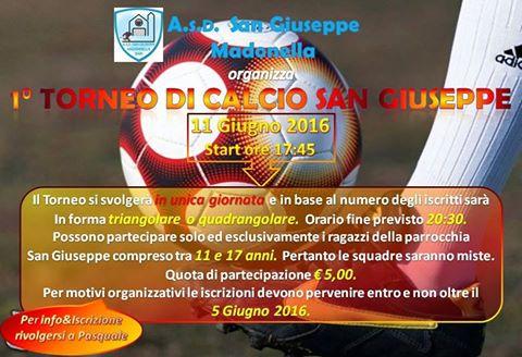 1° Torneo Calcio